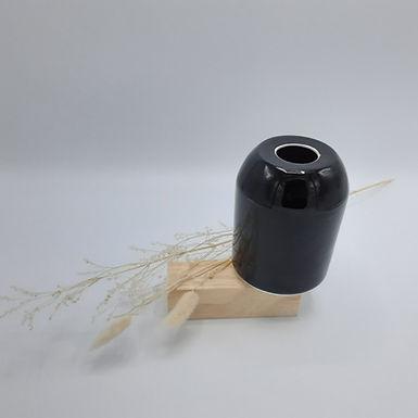 Vase noir temmoku