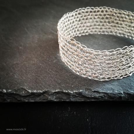 Bracelet crocheté