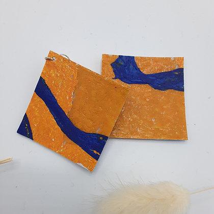 Boucles Carrées (4x4 cm)