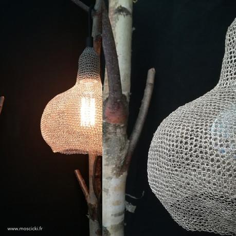 Luminaires crochetés