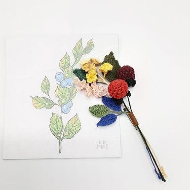 Broche  crochet