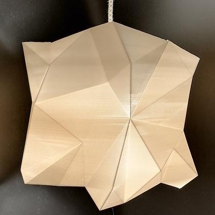 Lampe Facettes Cube n°1 - Grand modèle