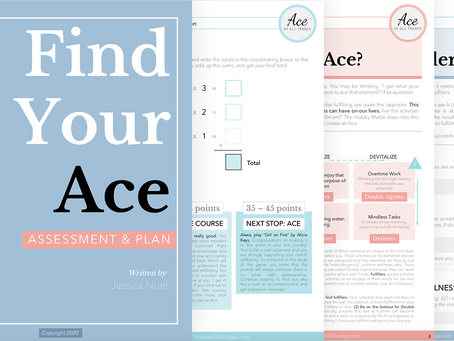 Introducing the Find Your Ace Assessment & Plan
