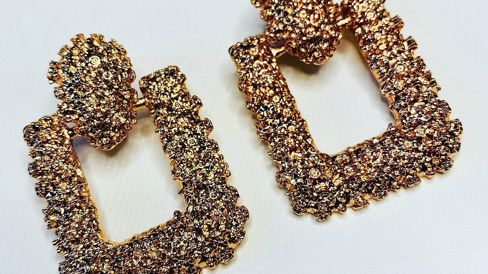 Mini Gold Glamorous Earrings