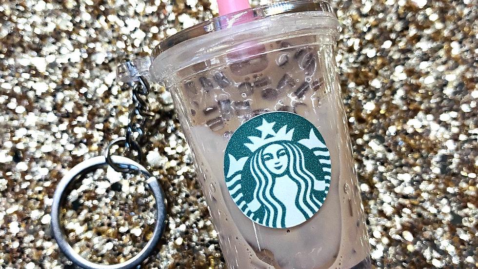 ICED COFFEE KEYCHAIN