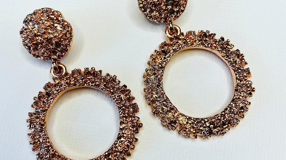 Mini Glamorous Gold Earrings