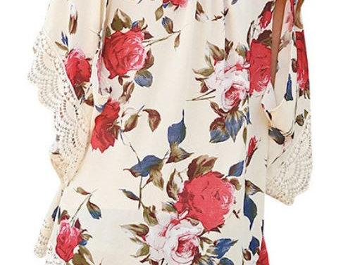 Chiffon Floral Cardigan