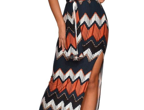 Long Multi-color Dress