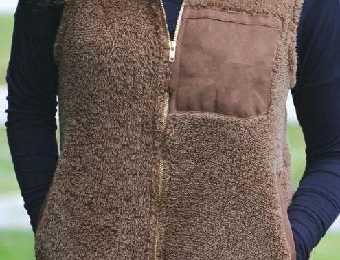 Wool Vest Coat