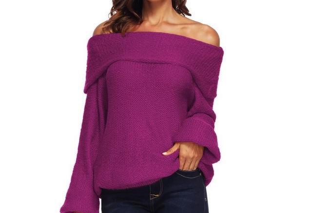 Knit Plus Size Sweater