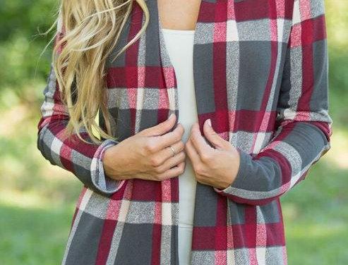 Multi-Color Stripe Cardigan
