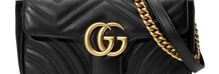 Mini GG Marmont Matelassé Leather Bag