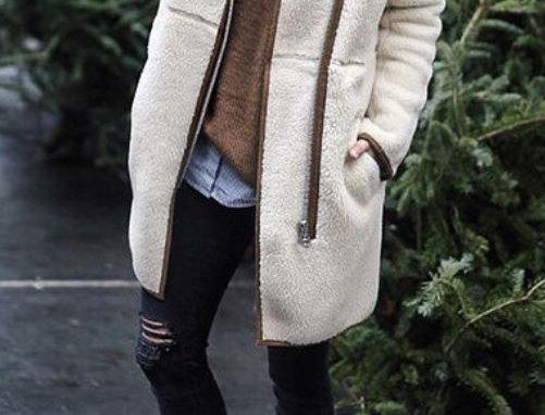 White Sweater Jacket