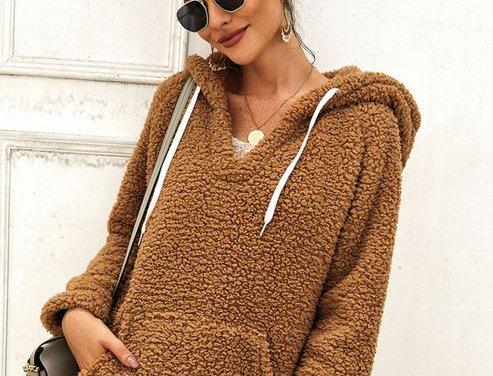 Fluffy Fleece Sweater