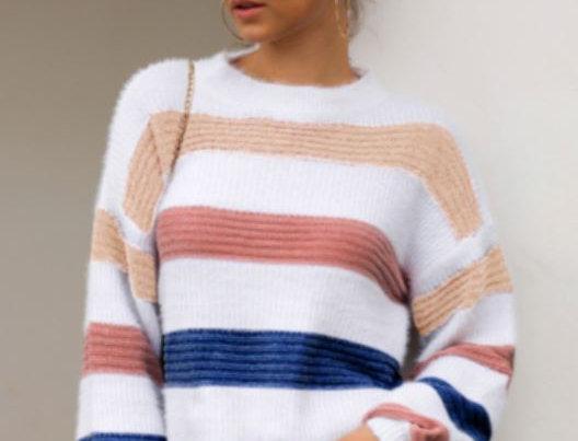 Splice Casual Sweater
