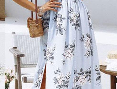 Bow Maxi Dress