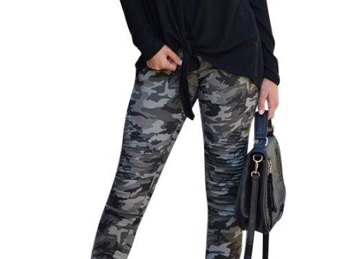 Slim Camo Pants