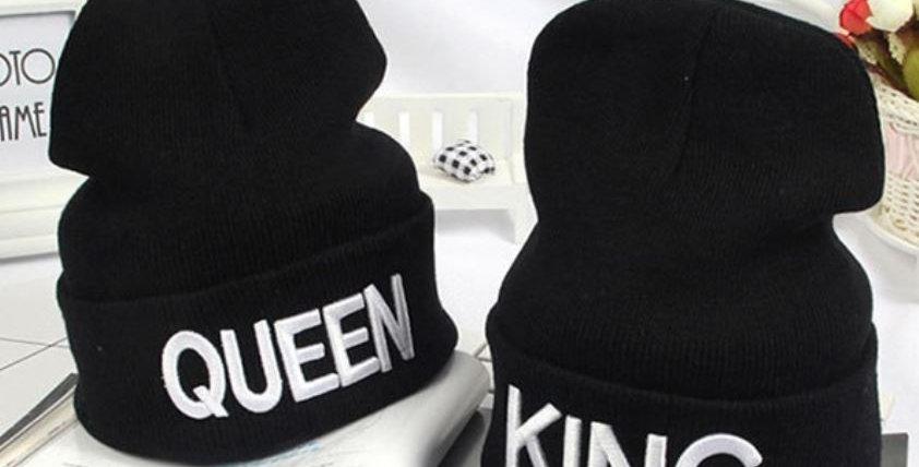 King & Queen Beanie