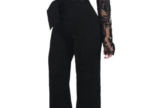 Formal Lace Jumpsuit
