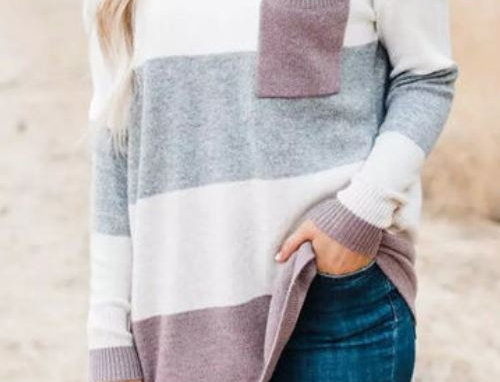 Loose Striped Sweater