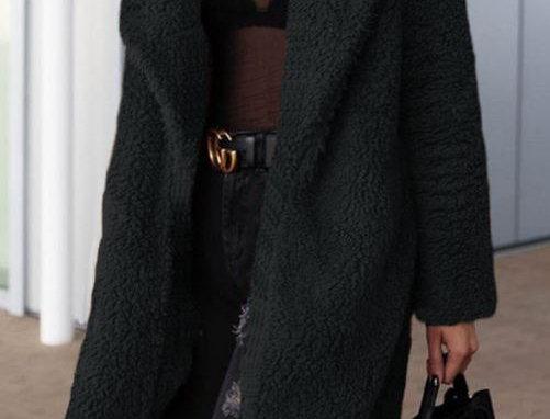 Long Lapel Coat