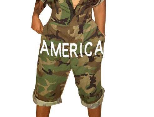 America Imprint Jumpsuit
