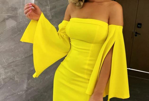 Split Bell Dress