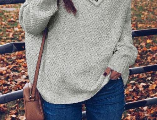Loose Off-Shoulder Sweater