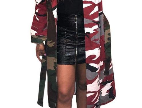 Long Camo Jacket