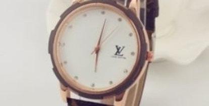 Monogram Pattern Watch