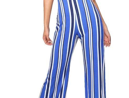 Striped Print Jumpsuit