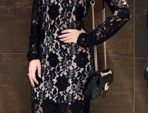 Lace Lining Dress