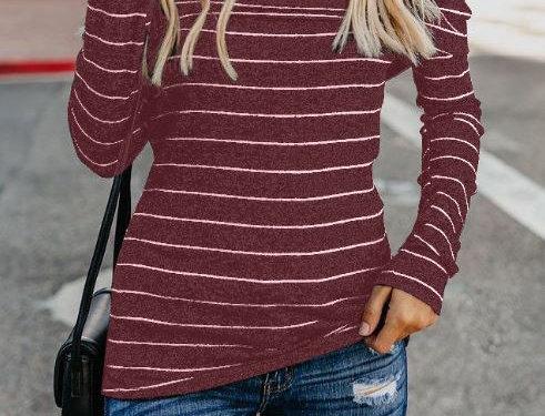 Striped Sweater Top