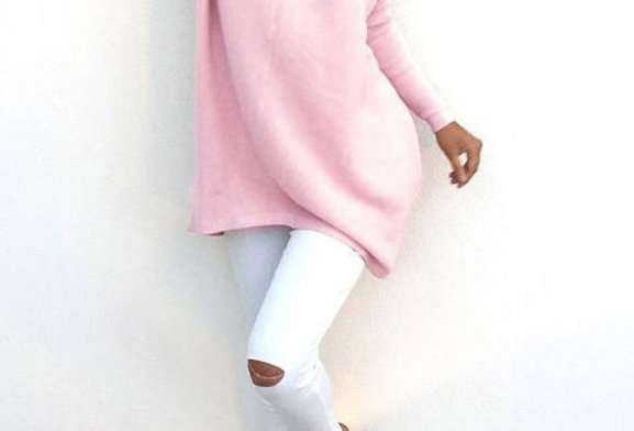 Solid Color Loose Sweater