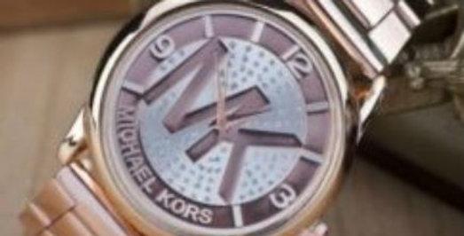 Rose Gold-Tone MK Watch