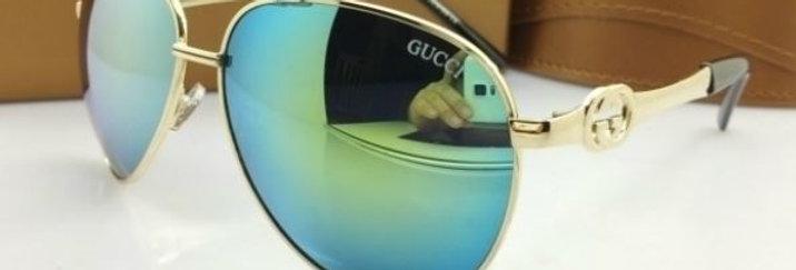 GG Aviator Metal Sunglasses