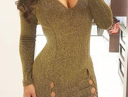 Sparkling Mini Dress