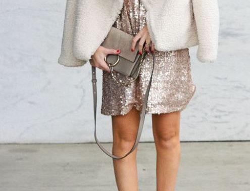 Plush Fur Coat