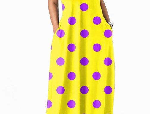 Polka Dot Mop Dress