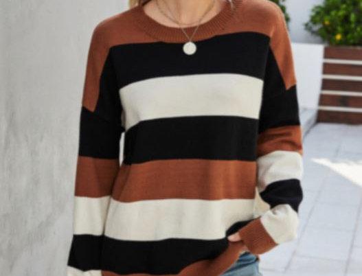 Color Contrast Sweater