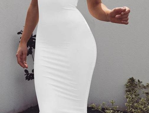 Long Slim Fit Dress