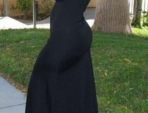 Off-the-Shoulder Long Dress