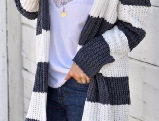 Sweater Hooded Jacket