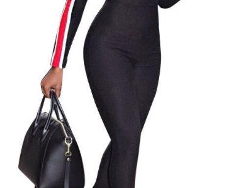 Form Fitting Jumpsuit