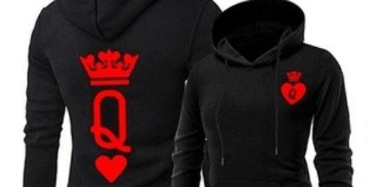 King & Queen Poker Hoodie