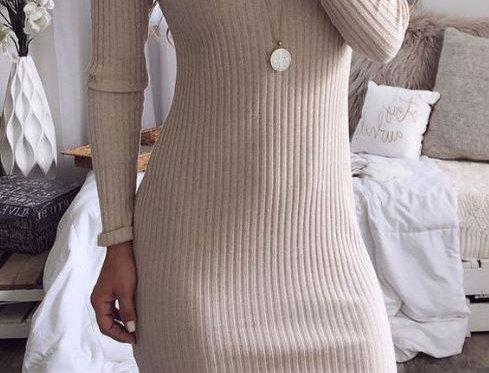 Split Midi Dress