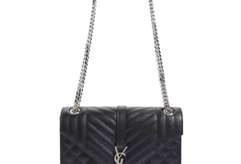 Monogram Quilted Leather Bag