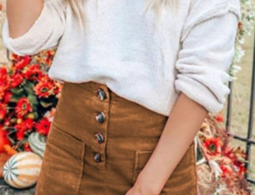 Slim Mini Skirt