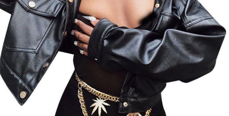 Hip Leather Jacket