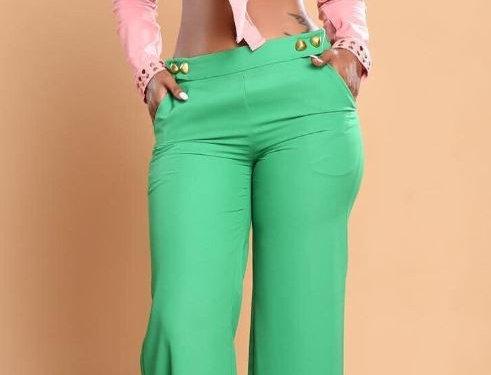 Symmetrical Casual Formal Pants